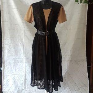 Lularoe Black Lace jacket